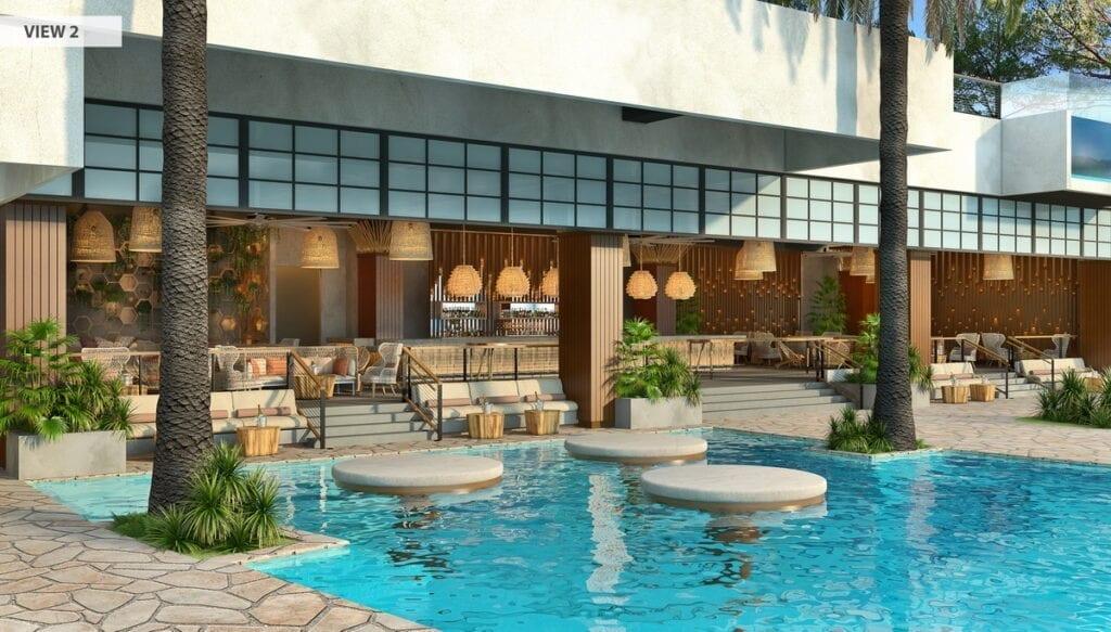 Virgin Hotels Las Vegas - Day Pool