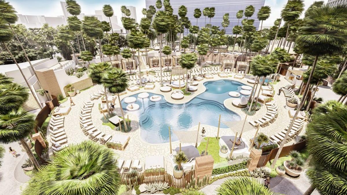 Virgin Hotels Las Vegas - Resort Pool