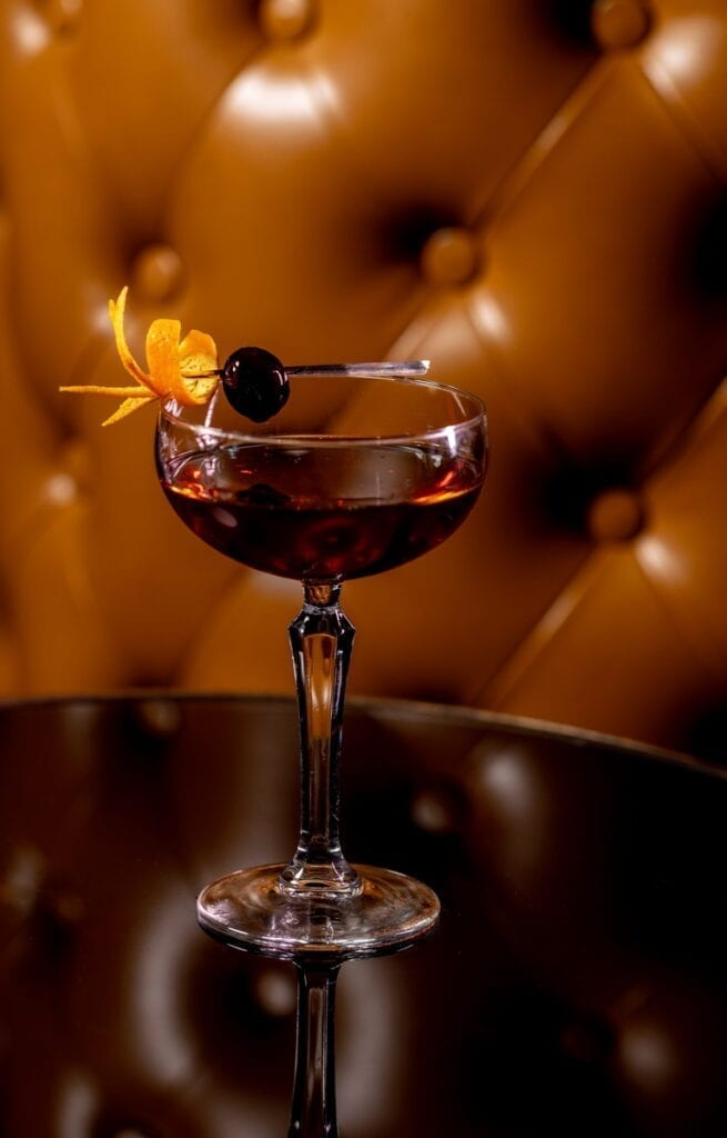 Classic Manhattan at Bound Cocktail Lounge