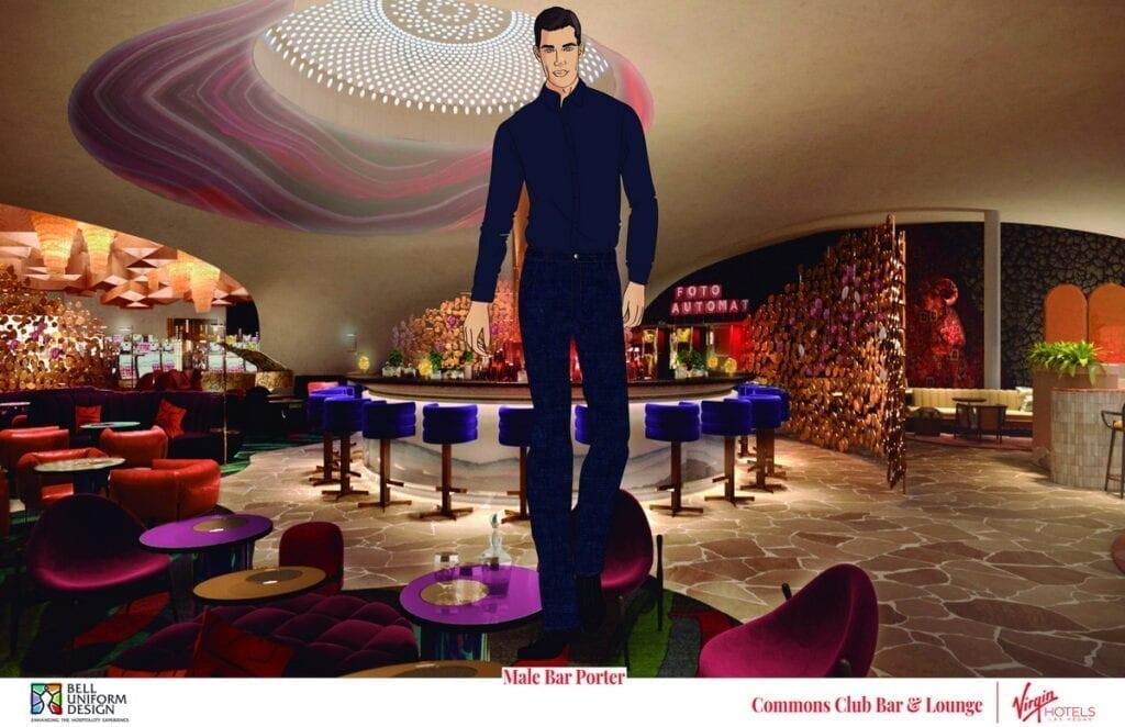 Commons Club Bar - Porter at Virgin Hotels Las Vegas