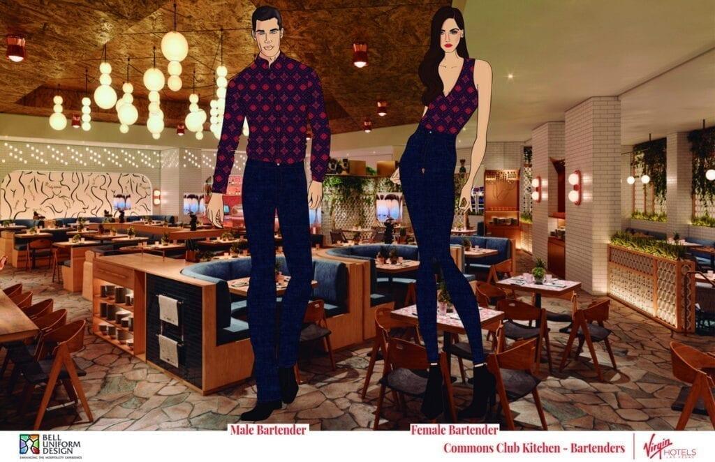 Commons Club Kitchen - Bartenders at Virgin Hotels Las Vegas