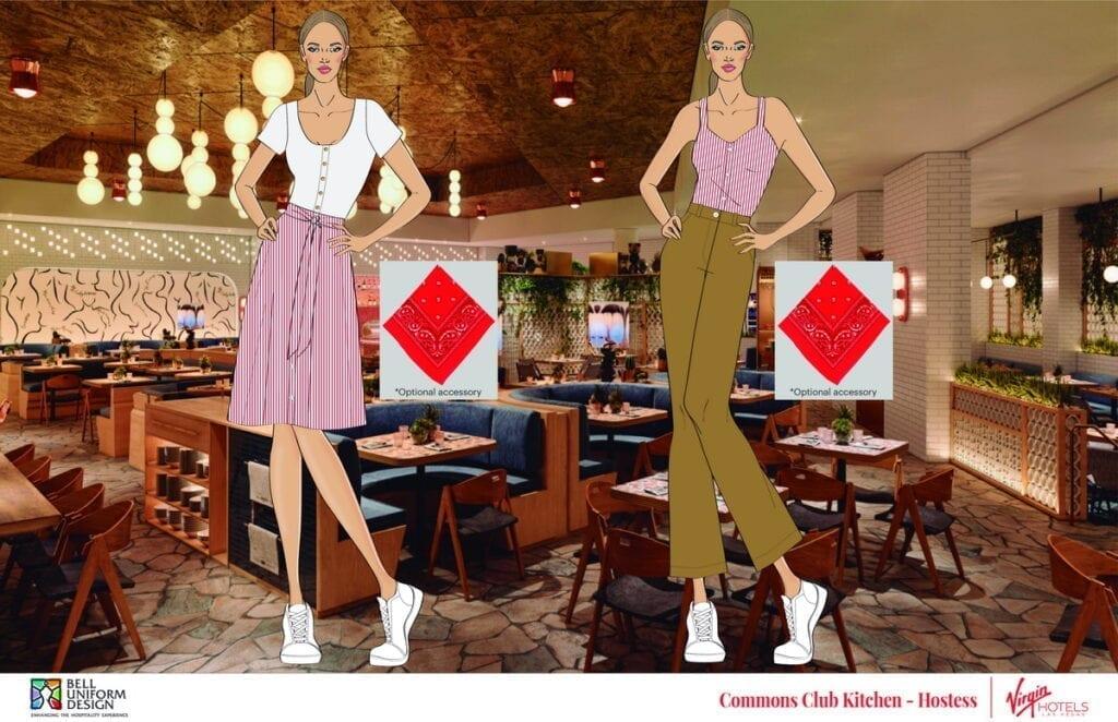 Commons Club Kitchen - Hostess at Virgin Hotels Las Vegas