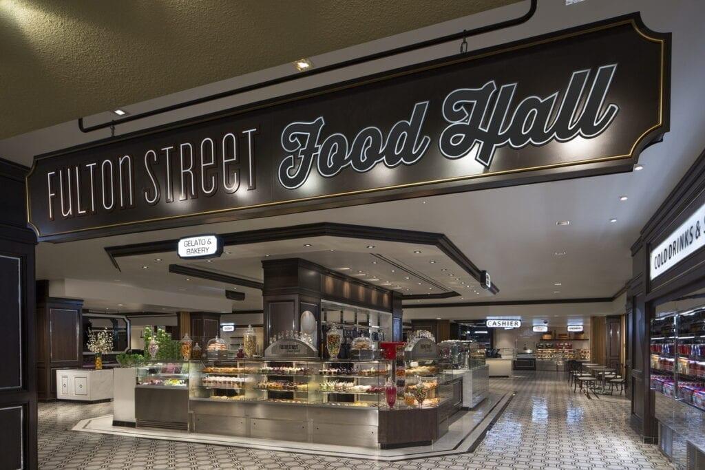 Fulton Street Food Hall at Harrah's Las Vegas