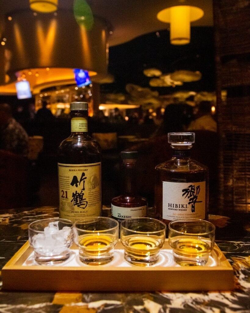 Nobu's Illustrious Japanese Whiskey Collection