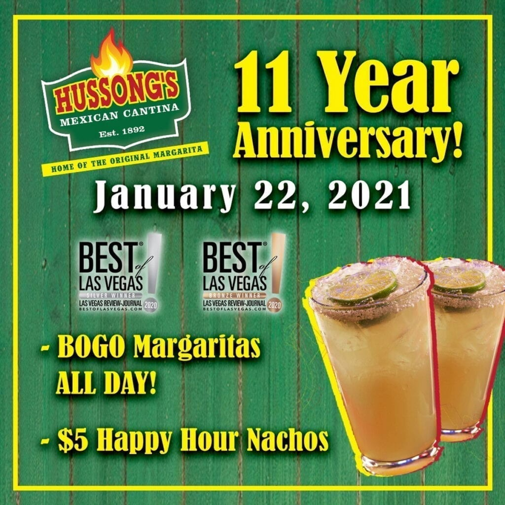 Hussong's Mexican Cantina - 11 Year Anniversary