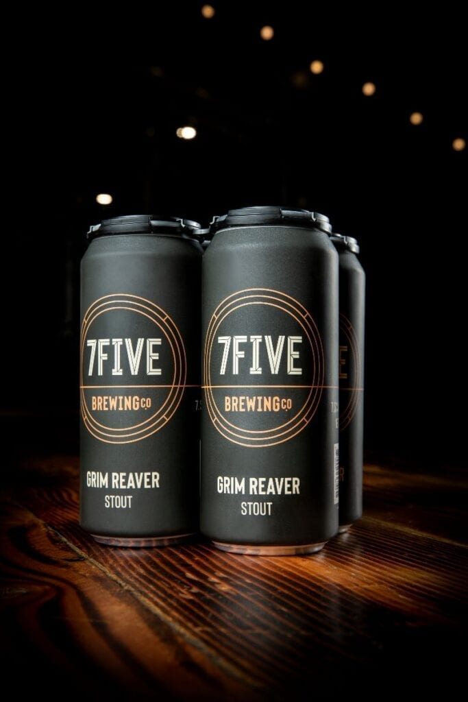 Ryan Reaves' 7Five Brewing Co. - Grim Reaver