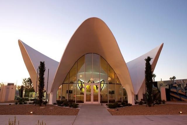 The Neon Museum - Former La Concha Motel Lobby