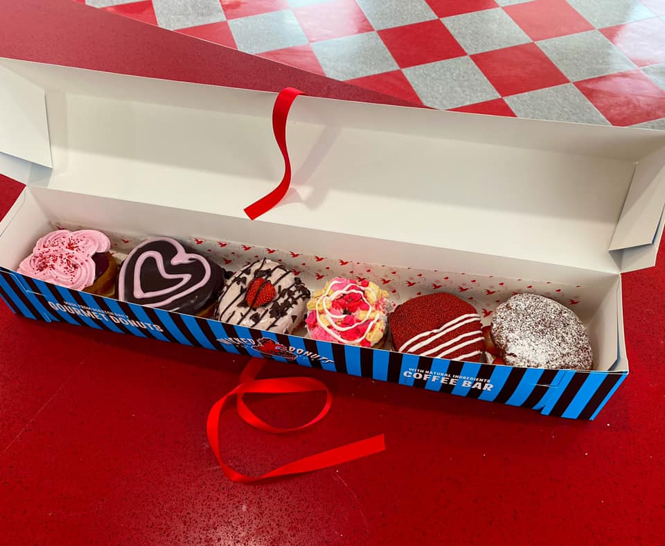 Wicked Donuts - Wicked Love Donut Box