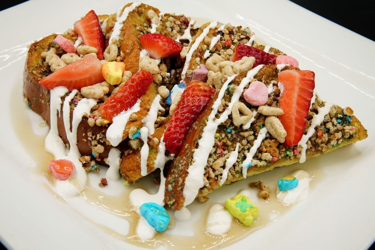 Luck of the Irish French Toast