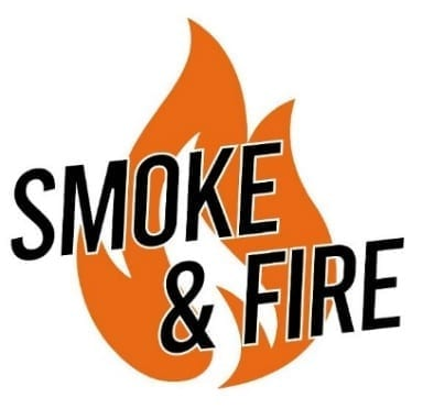 Smoke & Fire Logo