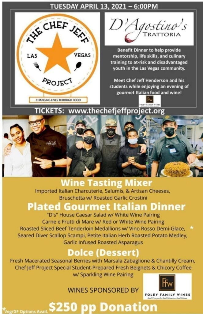 The Chef Jeff Project Fundraiser