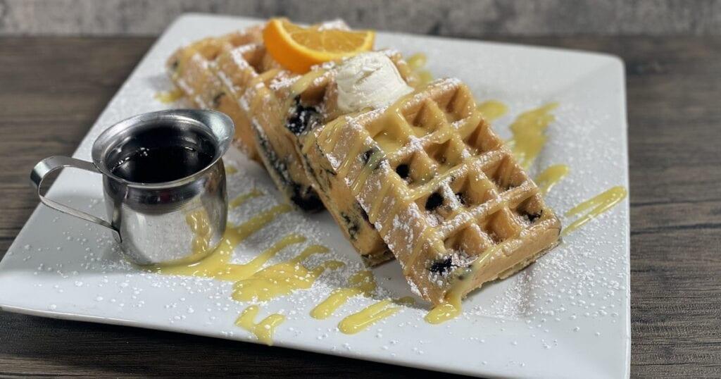 Hash House a Go Go - Blueberry Waffle