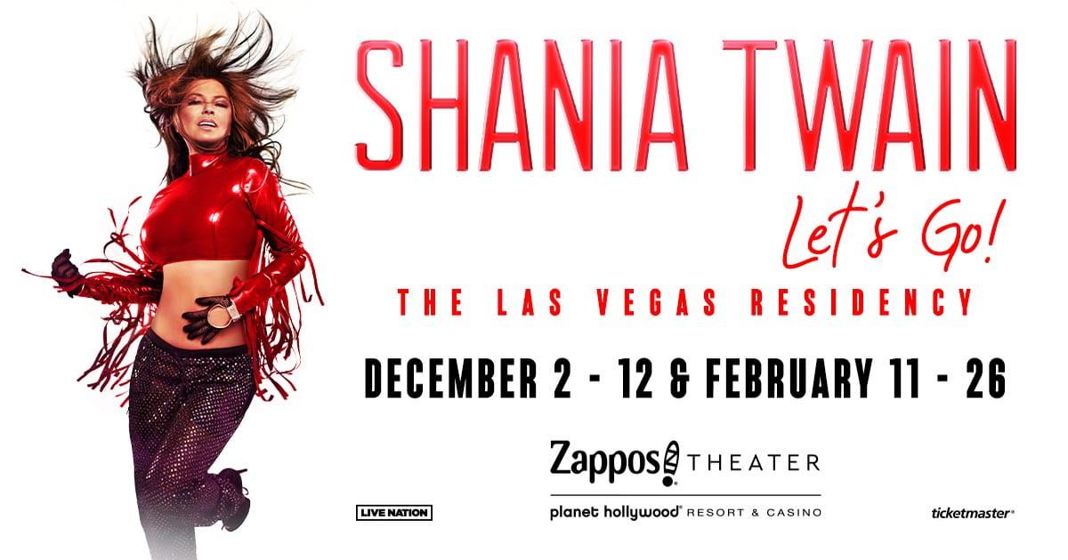 "Shania Twain ""Let's Go!"""