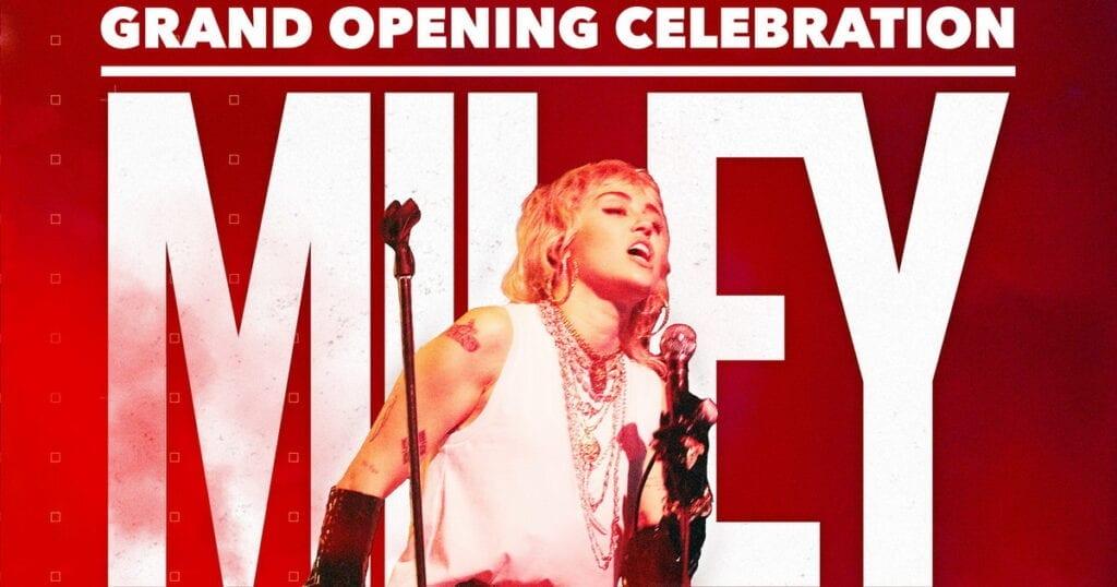 Miley Cyrus Headlines Resorts World Las Vegas Grand Opening