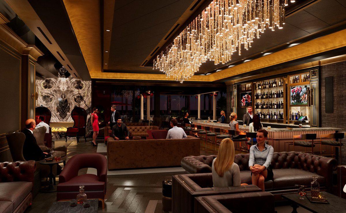 Eight Lounge at Resorts World Las Vegas
