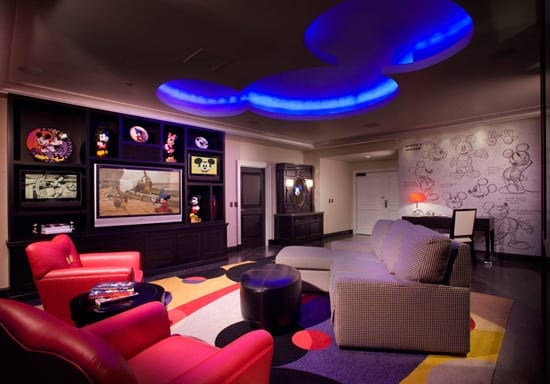 Signature Suites at the Disneyland Hotel - Mickey Mouse Penthouse