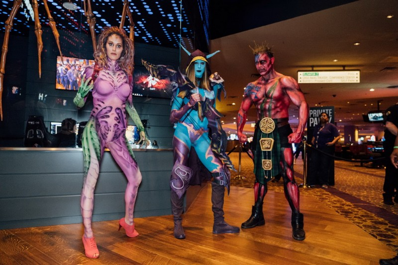 Cosplay-models-set-the-mood-at-the-grand-opening-of-Esports-Arena-Las-Vegas-at-Luxor-Hotel-and-Casino