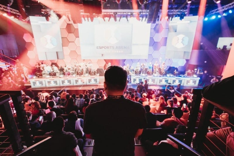 Esports-Arena-Las-Vegas-inside-Luxor-Hotel-and-Casino-opened-March-22-2018-with-multiple-show-matches-and-a-packed-crowd