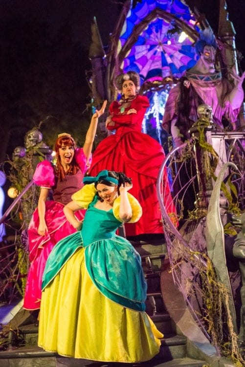 """""""Frightfully Fun Parade"""" during Oogie Boogie Bash"""
