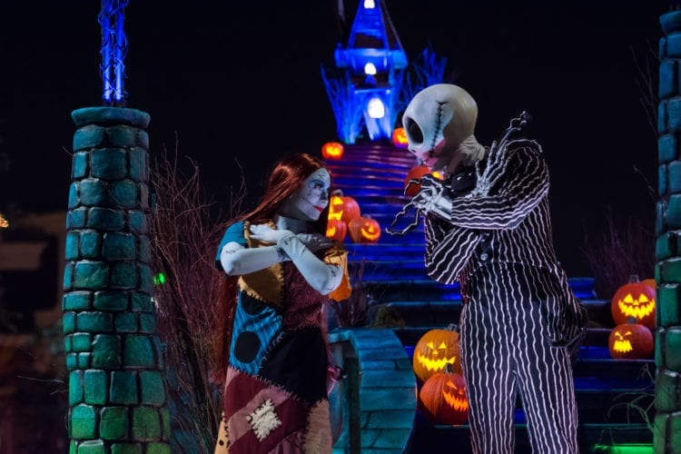 """Frightfully Fun Parade"" during Oogie Boogie Bash"