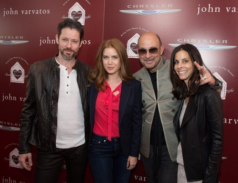 Amy Adams, Darren Le Gallo, John Varvatos, and Joyce Varvatos at John Varvatos 11th Annual Stuart House Benefit