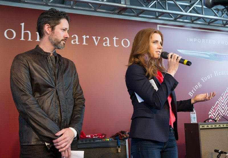 Amy Adams and Darren Le Gallo at John Varvatos 11th Annual Stuart House Benefit