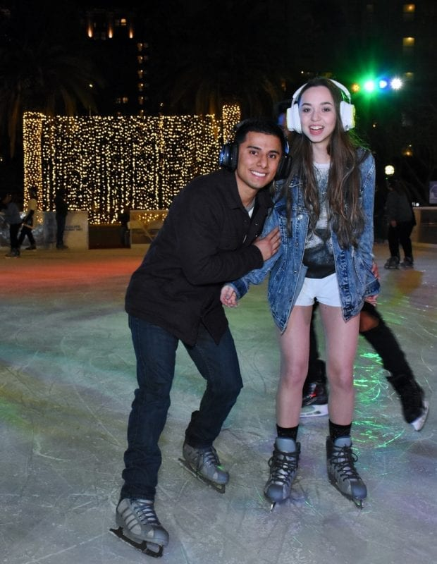 Bai Holiday Ice Rink Pershing Square - SILENT SKATE PARTY