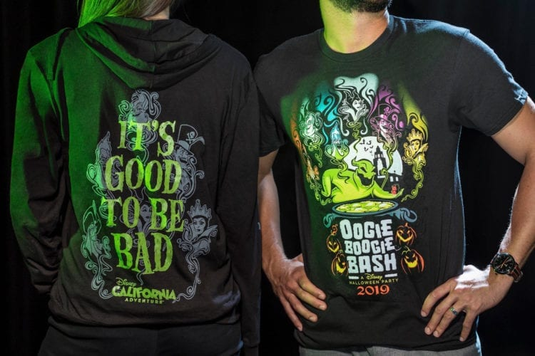 Halloween Time – Oogie Boogie Bash Zip Fleece and Adult Tee