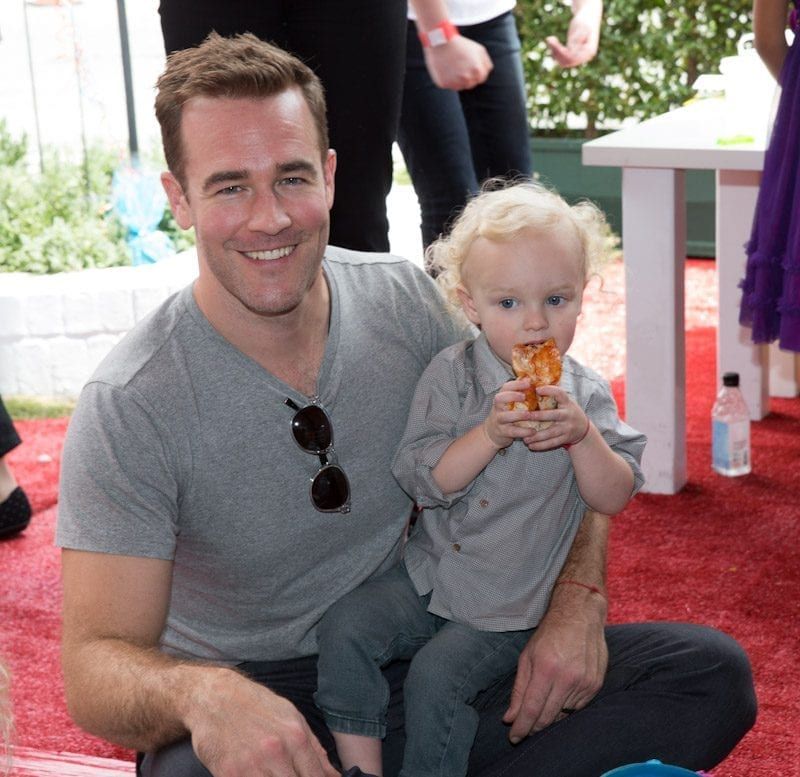 James Van Der Beek at John Varvatos 11th Annual Stuart House Benefit