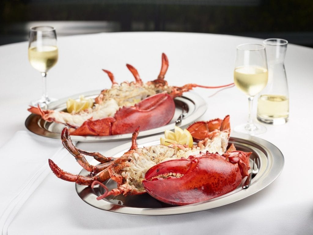 Lobster for Two at The Palm Las Vegas