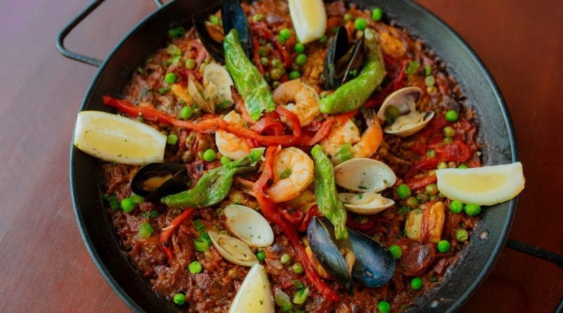 Mixed Paella at Firefly Tapas Kitchen & Bar