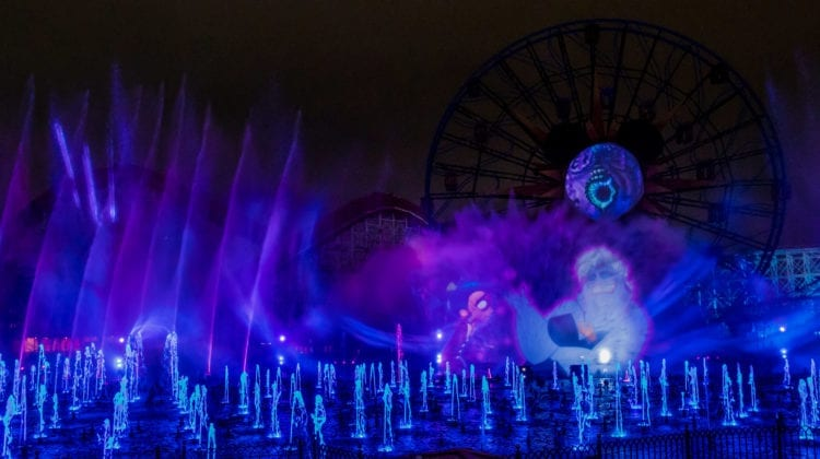 "New ""World of Color"" Show during Oogie Boogie Bash"