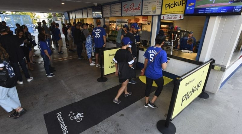 Postmates & Los Angeles Dodgers Enhance Fan Experience