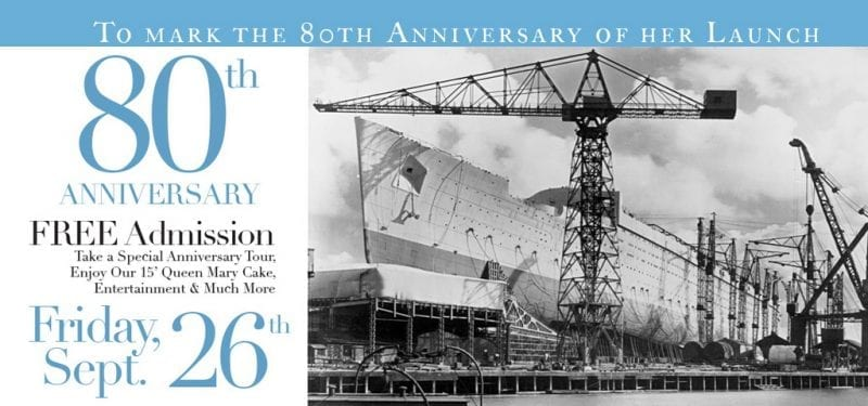 Queen Mary Anniversary