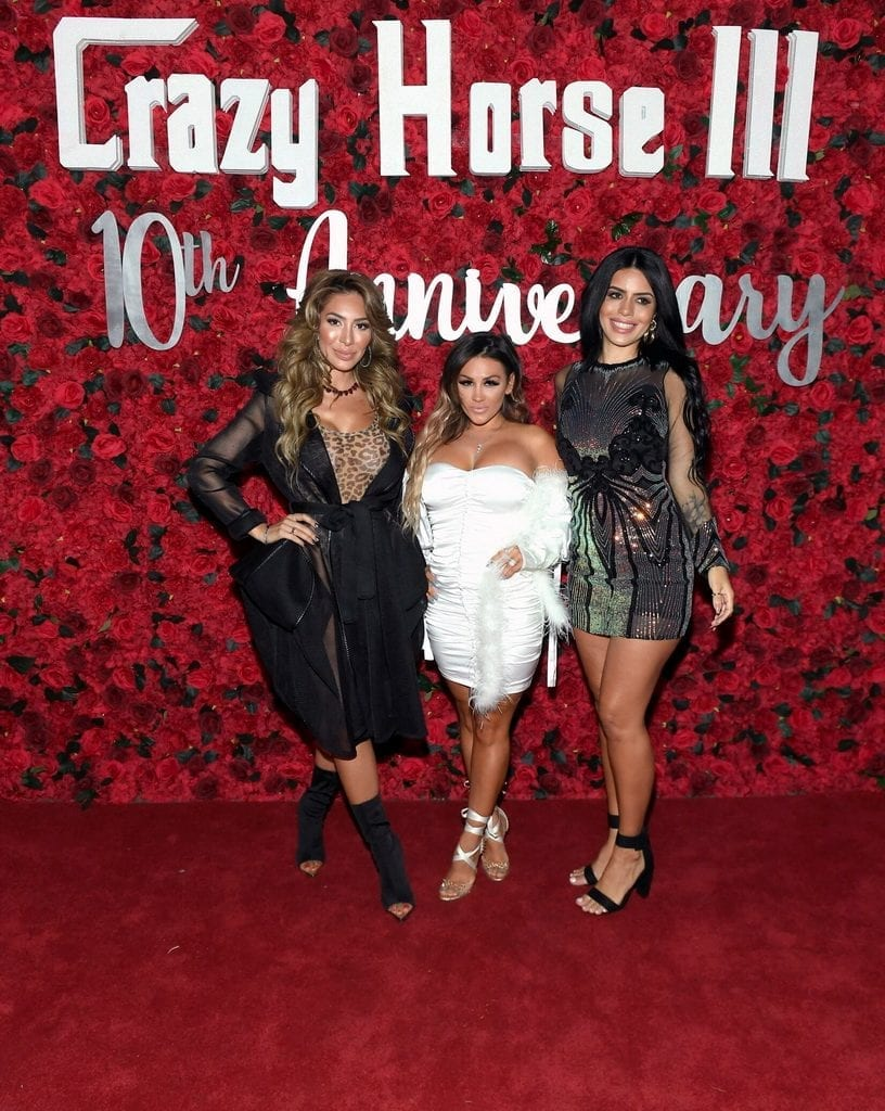 Farrah Abraham, Jen Harley, and Larissa Lima on Red Carpet