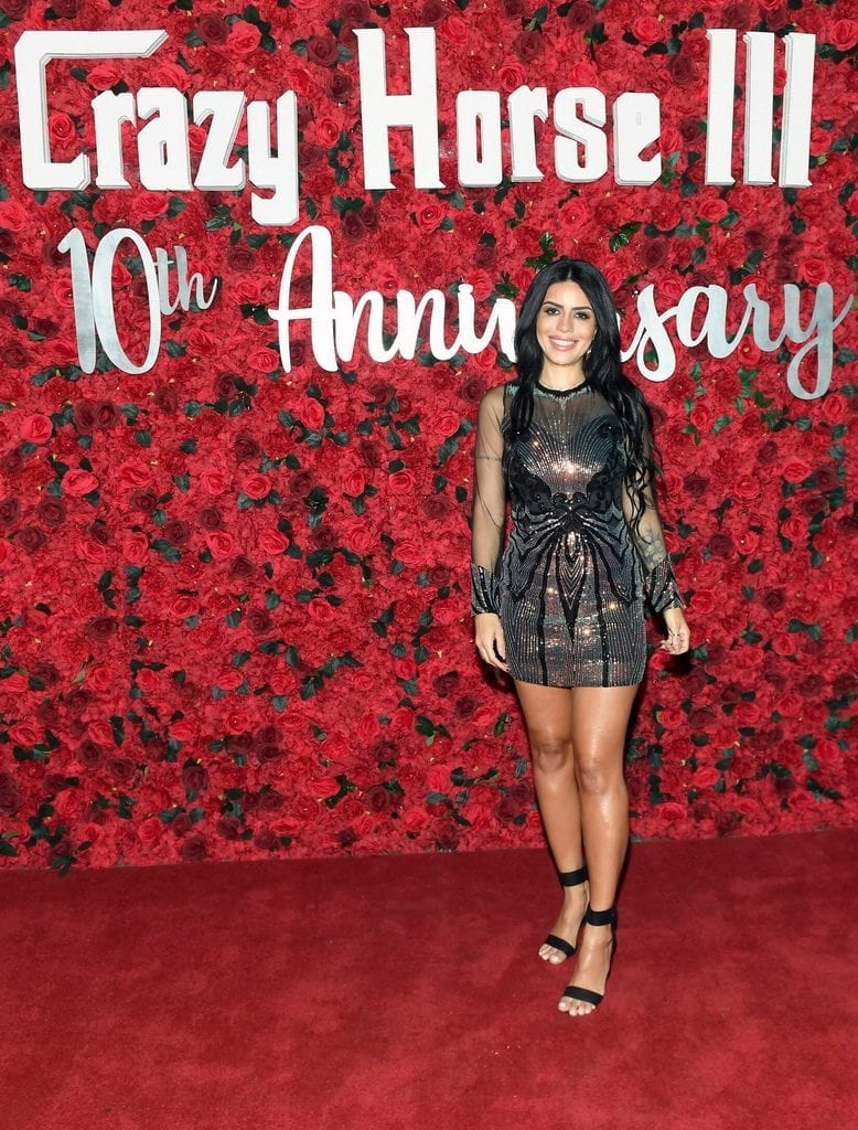 Larissa Lima on Crazy Horse 3 Red Carpet