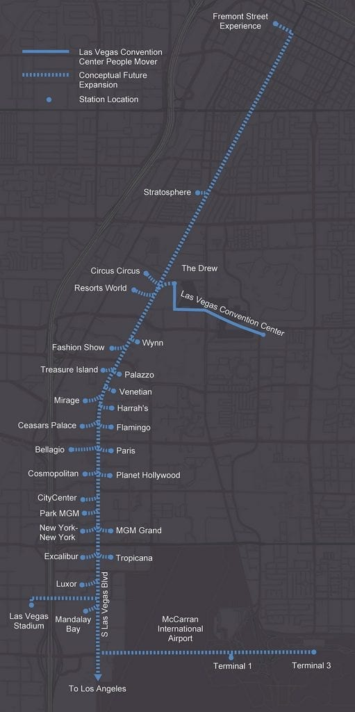 The Boring Company People Mover Possible Expansion