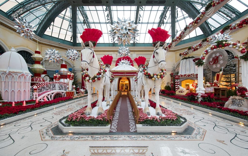 Queen Bellissima Holiday 2019 at Bellagio's Conservatory