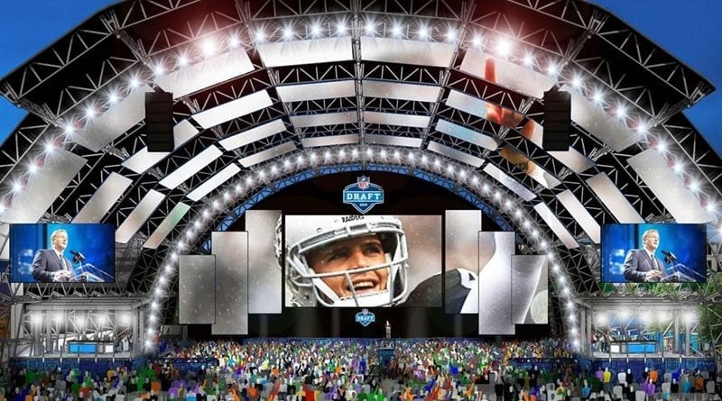 2020 NFL Draft Events in Las Vegas