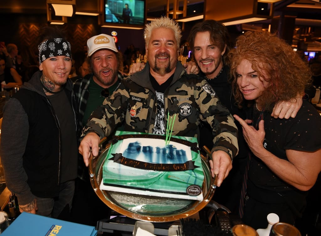 ASHBA, Sammy Hagar, Guy Fieri, Rick Springfield, and Carrot Top at The STRAT Hotel, Casino & SkyPod