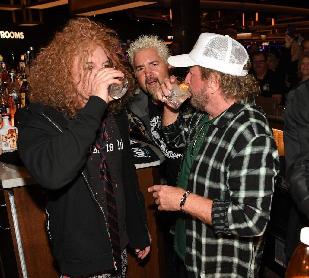 Carrot Top, Guy Fieri, and Sammy Hagar at The STRAT Hotel, Casino & SkyPod