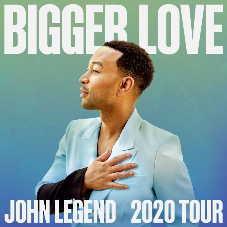 Johns Legend's Bigger Love Tour Comes to The Chelsea at The Cosmopolitan of Las Vegas