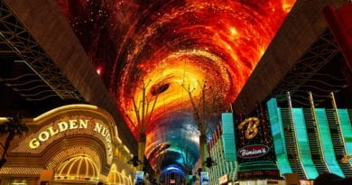 Fremont Street Experience Illuminates Downtown Las Vegas with Stunning Visuals on Upgraded Viva Vision Canopy