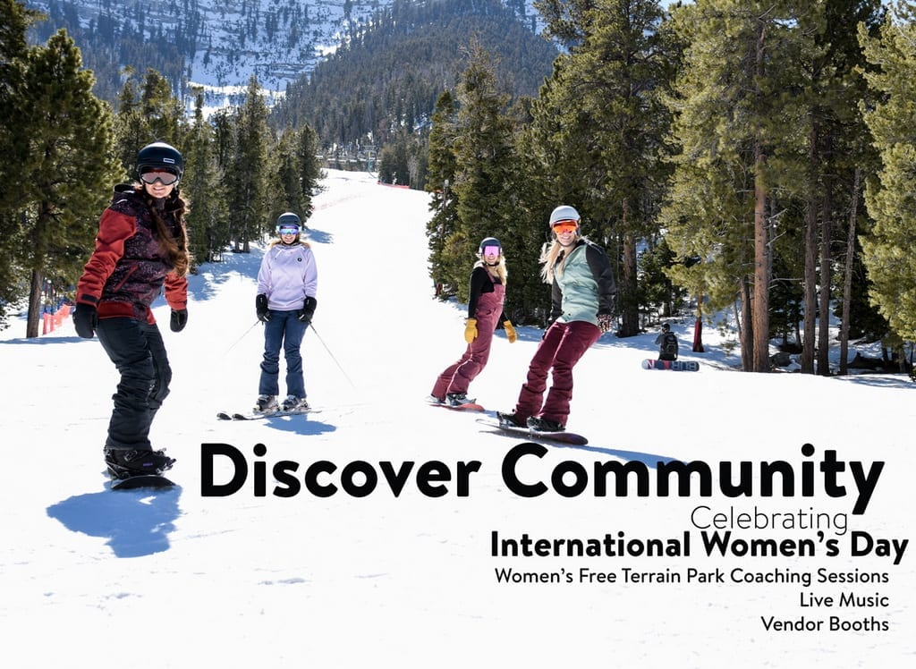 International Women's Day at Lee Canyon