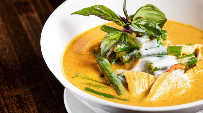 Pin Kaow - Panang Chicken Curry - Las Vegas Restaurants