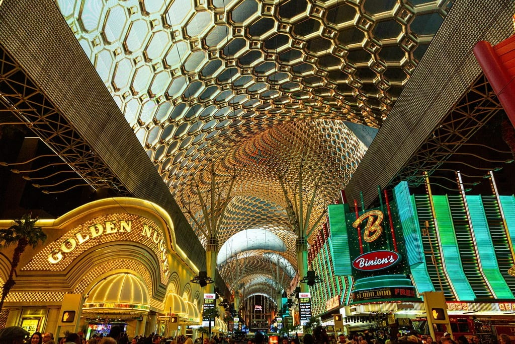 Revitalized Viva Vision Canopy Illuminates Fremont Street Experience in Downtown Las Vegas