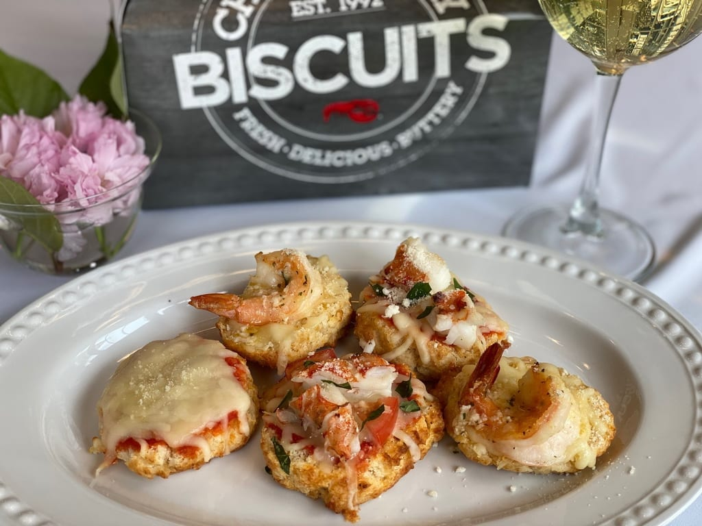 Red Lobster - Cheddar Bay Biscuit Pizza Bites