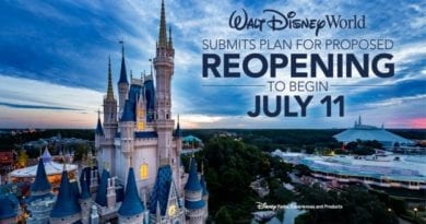 Walt Disney World Resort Phased Reopening