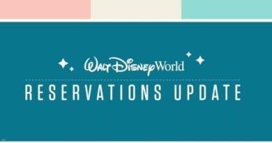Walt Disney World Resort Reservations Update