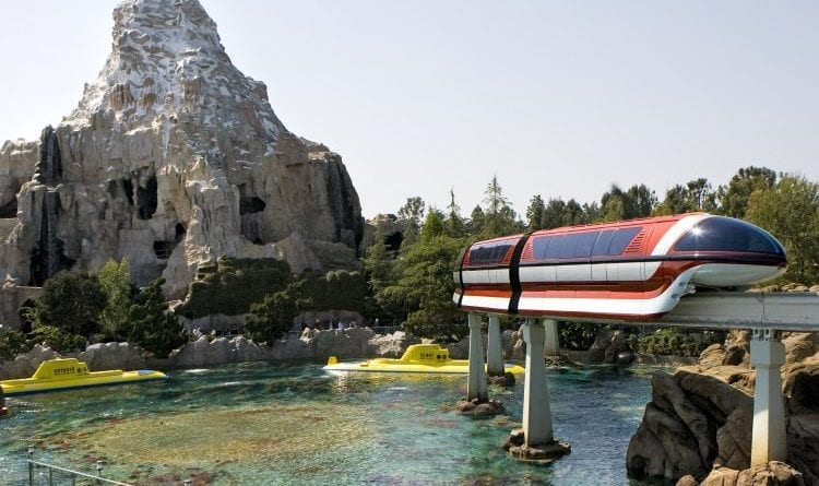 Historic Trio - Matterhorn, Monorail, and Submarines